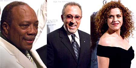 Quincy Joines, Estefan, Bernadette Peters