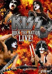 KISS: Rock The Nation Live! DVD