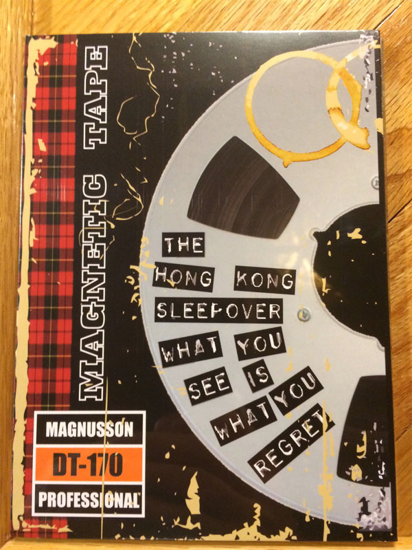 The Hong Kong Sleepover – Live DVD:  What You See is What You Regret (2015)