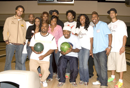 Tate Foundation Celebrity Bowlers