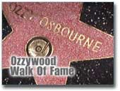 Ozzy Walk of Fame