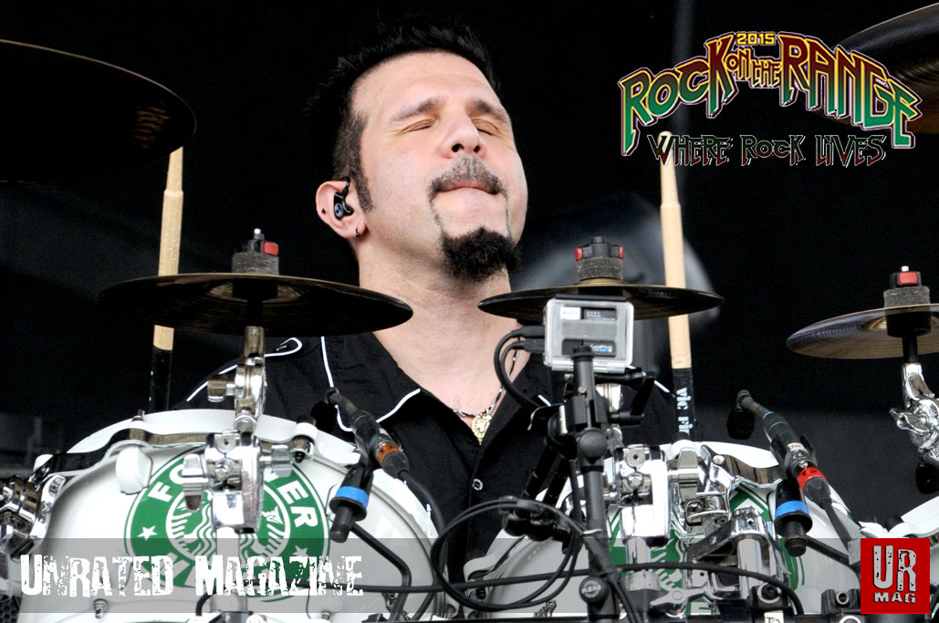 Charlie Benante Drummer of Anthrax by James Currie