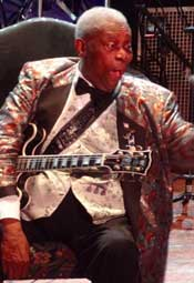 B.B. King, photo by James Currie
