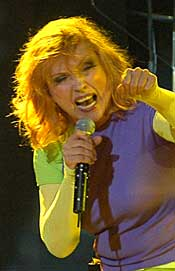 Blondie: Atomic Energy of Blondie Rages at Ravinia