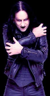 Cradle Of Filth's Dave Pybus