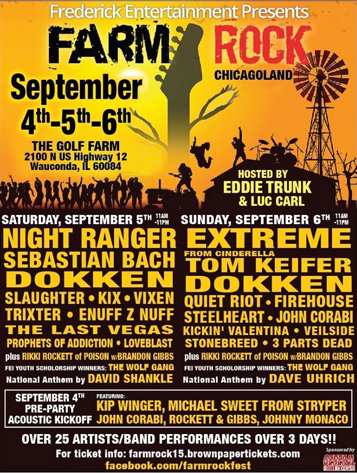 Farm Rock Chicago Land 2015