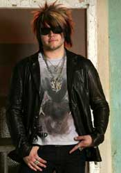 Joe 'Blower' Garvey of Hinder