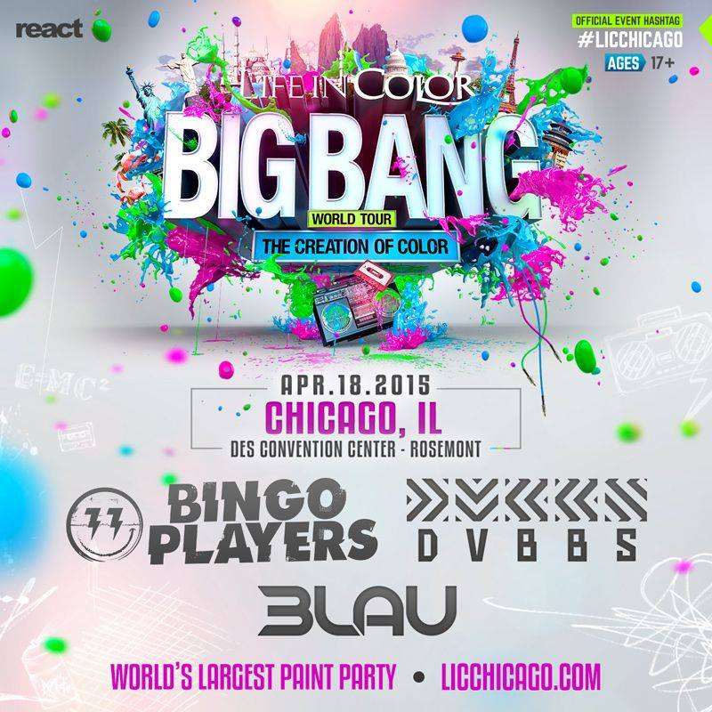Life in Color Big Bang World Tour The Creation of Color