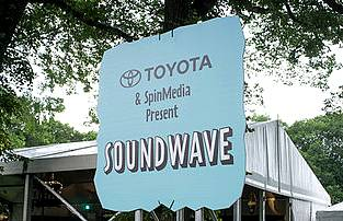 Toyota and SpinMedia Present Soundwave at Lollapalooza