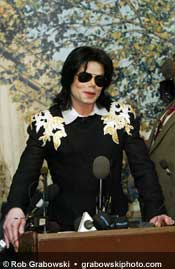 Michael Jackson Honored in Gary, Indiana, June 11, 2003