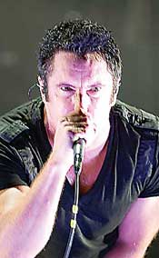 Trent Reznor of Nine Inch Nails, Photo by Ahsan Khan