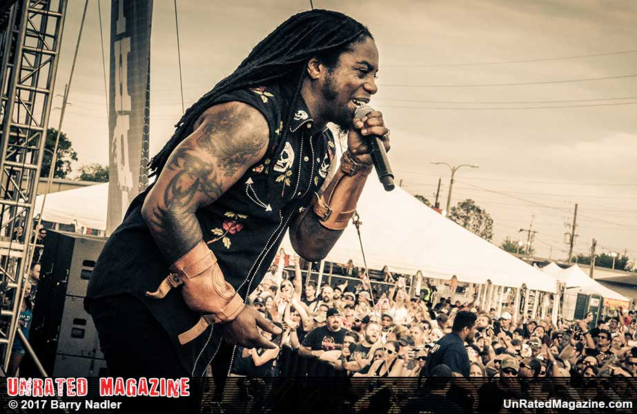 Sevendust at iHeart Radio and WJRR 101.1 Earthday Birthday 24 Music Festival
