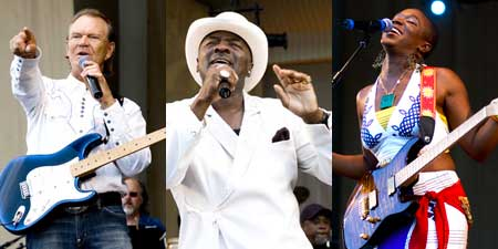 Glen Campbell, O'Jays, India Arie