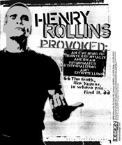 Henry Rollins Provoked